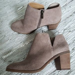 Lucky Brand Pickla leather ankle boot